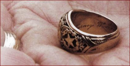 Turney Leonard's ring